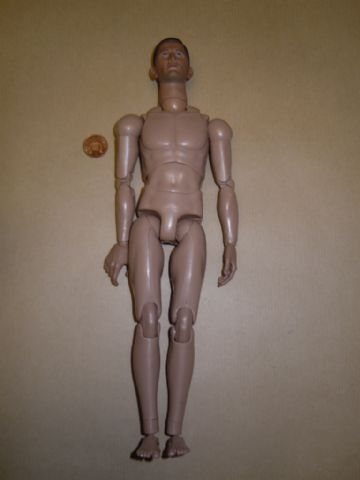 CALTEK - WW II - FRENCH INFANTRYMAN - Nude Figure